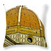 Duomo Florence Italy Throw Pillow