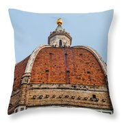 Duomo Throw Pillow by Luis Alvarenga