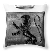 Duquesne Coat Of Arms Throw Pillow