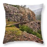 Durango Train To Silverton Dsc07599 Throw Pillow
