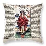Durer: Syphilitic, 1496 Throw Pillow
