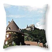Durnstein Castle Throw Pillow
