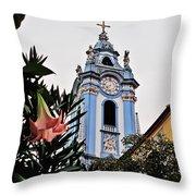 Durnstein Parish Church Throw Pillow