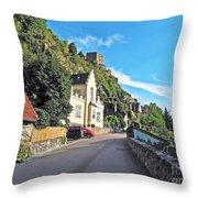 Durnstein Village Throw Pillow