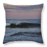 Dusk At The Shore Throw Pillow