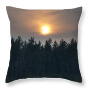 Dusky Sunset Throw Pillow