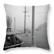 Dust Bowl, 1936 Throw Pillow