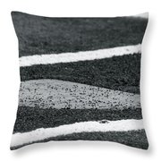 Dust Covered Home Throw Pillow
