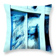 Dust In The Wind-ow... Throw Pillow