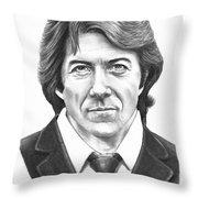 Dustin Hoffman Throw Pillow