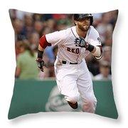 Dustin Pedroia Throw Pillow