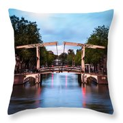 Dutch Bridge Throw Pillow