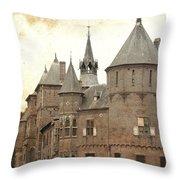 Dutch Castle Throw Pillow