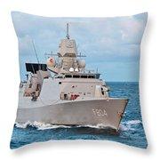 Dutch Frigate Throw Pillow