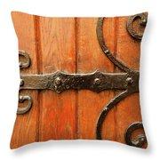 Dutch Hinge Throw Pillow