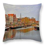 Dutch Living Throw Pillow