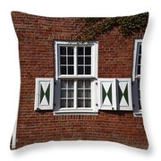 Dutch Neighborhood In Potsdam Throw Pillow
