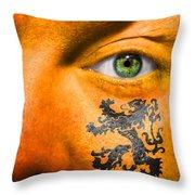 Dutch Royal Lion Throw Pillow