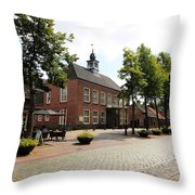 Dutch Village Throw Pillow
