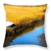 Dutcher Dock 3 Throw Pillow