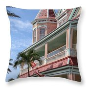 Duval And South Throw Pillow