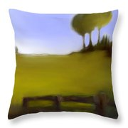 Duxbury Golf Course  Number 4-4 Throw Pillow