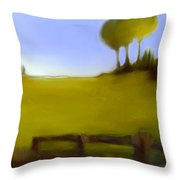 Duxbury Golf Course  Number 6-6 Throw Pillow