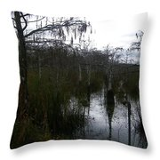 Dwarf Cypress Pool Throw Pillow