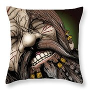 Dwarf Prisoner Throw Pillow