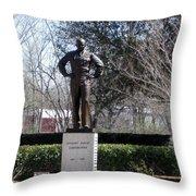 Dwight D Eisenhower Throw Pillow