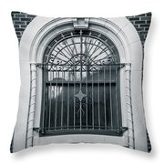 Dwyer Street Window 2 Throw Pillow
