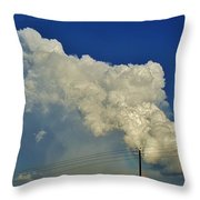 Dying Texas Supercell Throw Pillow