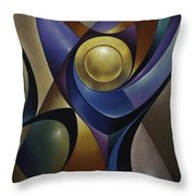 Dynamic Chalice Throw Pillow