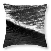 Dynamic Curve Throw Pillow