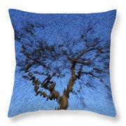 Dynamic Dawn Throw Pillow