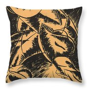 Dynamism Of A Human Body Throw Pillow