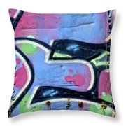 E Is For Equality Throw Pillow by Donna Blackhall