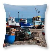 E Numbers Throw Pillow