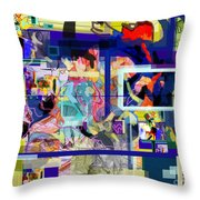Each Positive Step Is Vital 2 Throw Pillow by David Baruch Wolk