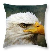 Eagle Art Throw Pillow