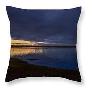 Eagle Hill Sunset Throw Pillow