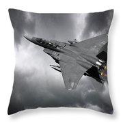 Eagle Power Throw Pillow