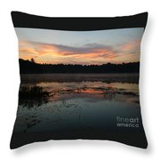 Eagle River Sunrise No.5 Throw Pillow