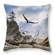 Eagles Home Throw Pillow