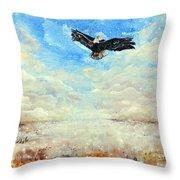 Eagles Unite Throw Pillow