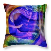 Ear To The Stars Throw Pillow