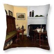 Early American Dining Room Throw Pillow