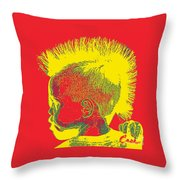 Early Ancestry Micro Me Portrait 11 Throw Pillow