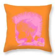 Early Ancestry Micro Me Portrait 13 Throw Pillow