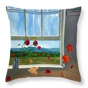 Early Autumn Breeze Throw Pillow